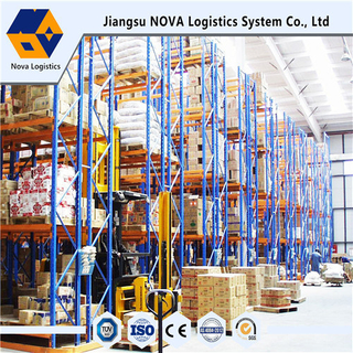 Metal Steel Very Narrow Aisle Racking From Nova System