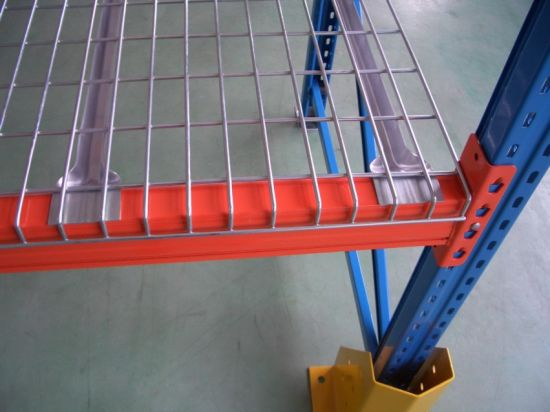 Wire Mesh Decking for Support Steel Pallet Racks with