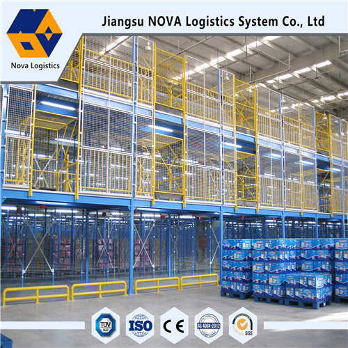 High Quality Storage Mezzanine with Galvanized Floor