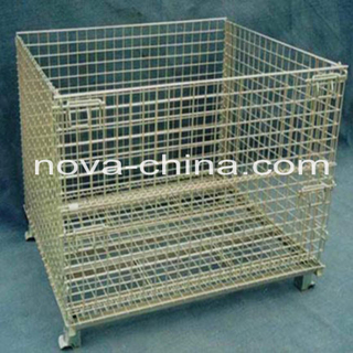Customized Steel Foldable Mesh Box Pallet