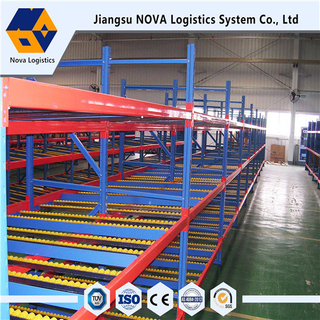 Flow Through Racking with High Speed and Quality