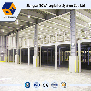Heavy Duty Mezzanine System and Platform From Nova Logistics
