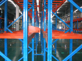 China Heavy-Duty Selective Pallet Racking