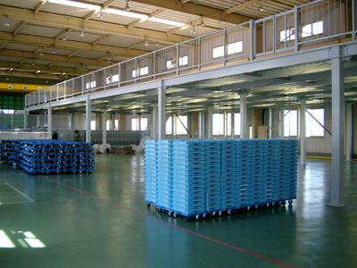 Industrial Customized Steel Structure Racks Supported Multi-tier Loft Mezzanine Floor Platform Racking